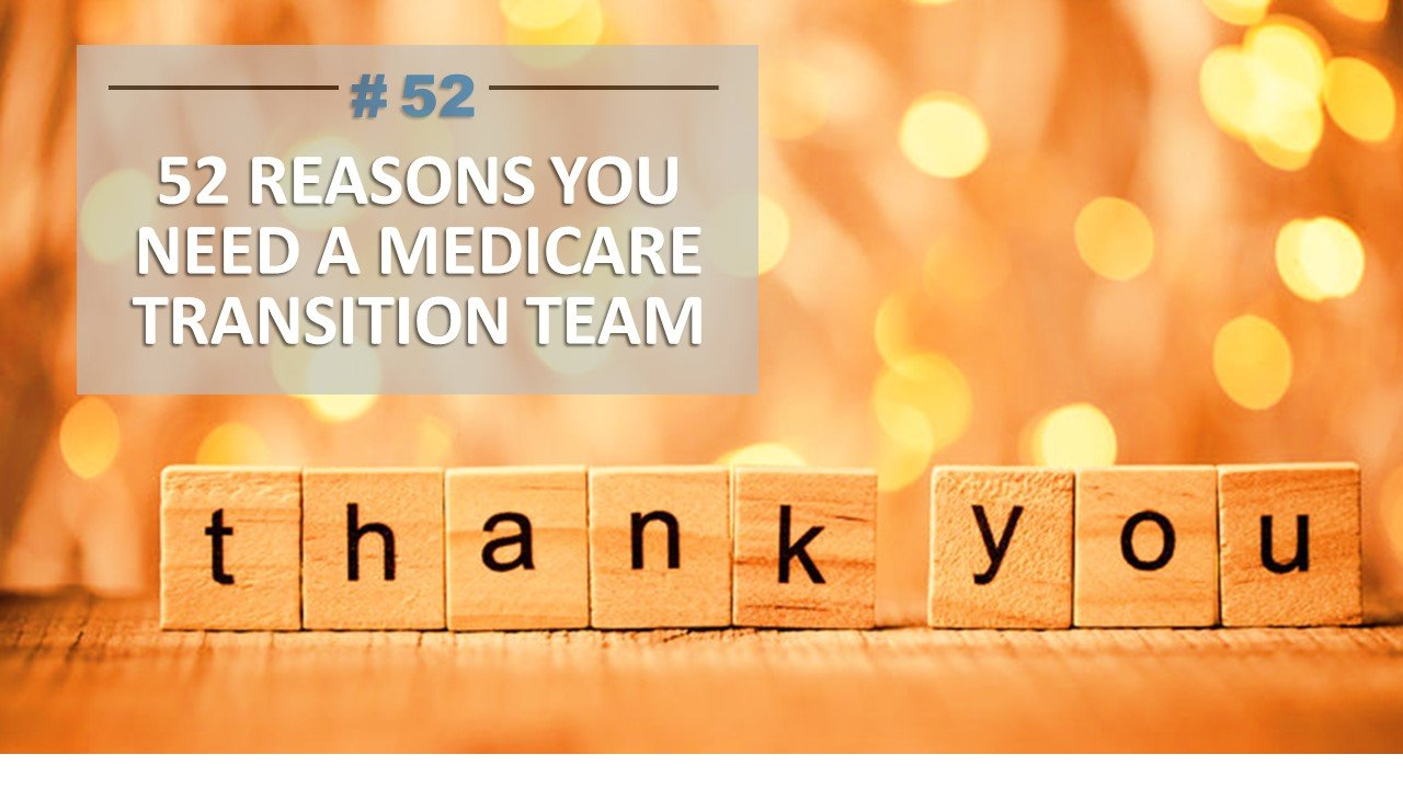 Thank you from The Medicare Architects