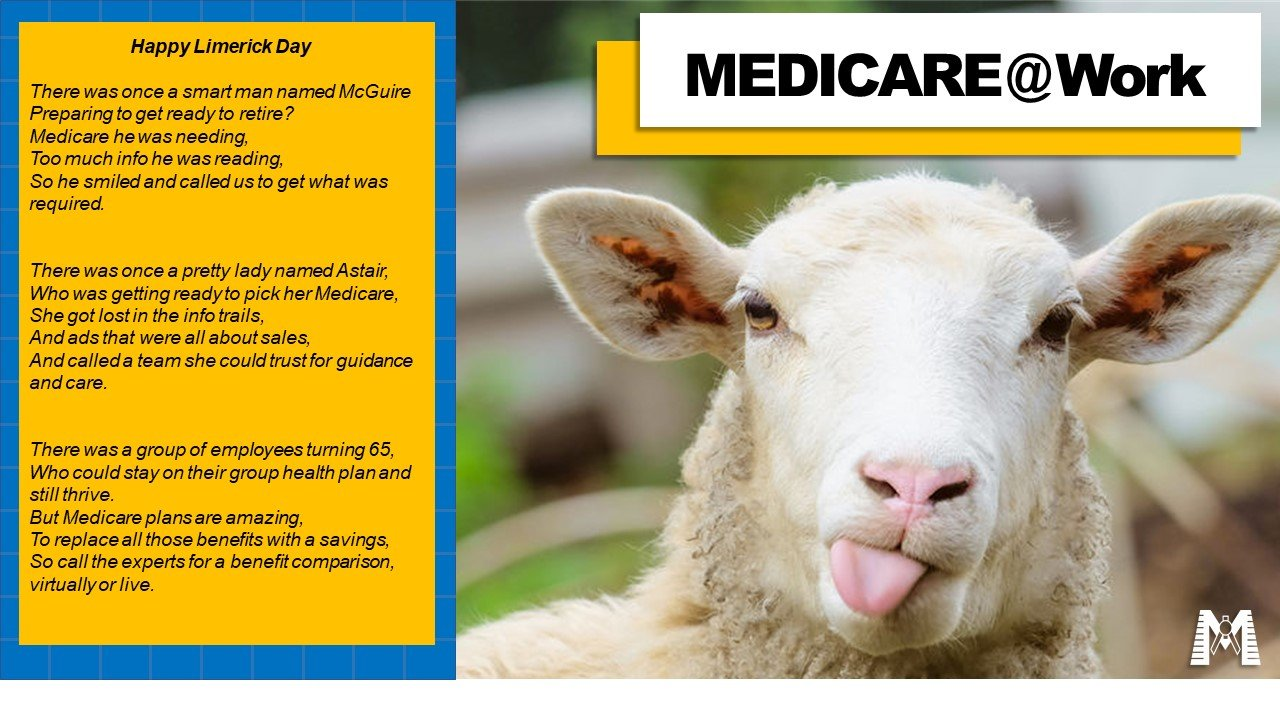 Limericks For Medicare at Work